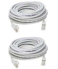 2X 25 Ft. Cat5e Ethernet Network Patch Lan Cable 350Mhz 1000Base-T Internet 2Pcs