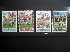 Nueva Zelanda 1991 Copa del Mundo de juego de rugby NHM SG1623/6