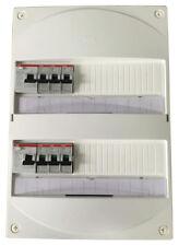 Tableau électrique logement pré-câblé 2 rangées avec InterDiff 63A ABB - NEUF
