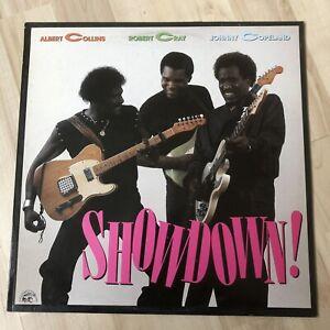 Albert Collins, Robert Cray, Johnny Copeland - Showdown - 1985 Vinyl Album