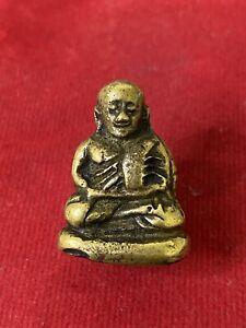 LP Ngern Pim Niyom Wat Bangklan Thai Buddha AmuletTemple