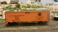 Athearn HO  Steel Ice Reefer, Pacific Fruit Express, Upgraded Exc