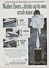 1959 Hoover Electric Floor Washer Print Ad Clipping