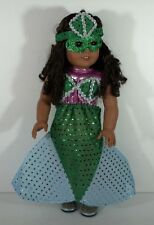 Mermaid Costume For 18 in American Girl Clothes