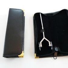 Tête large poli double roue tournante & leather case ot-27, livraison gratuite au royaume-uni