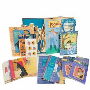Vintage Disney Pocahontas Birthday Supplies Cards Games Lot Of 20 Rare Hallmark