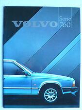 Prospekt Volvo Serie 760 GLE -Turbo, 1984, 40 Seiten, Hochglanz, für Österreich
