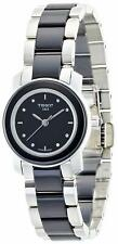 Tissot T-Trend Ladies Ceramic Diamond Watch - T0642102205600 NEW