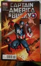 Captain America and Bucky #622 (November 2011, Marvel)-INVADERS-VG/FINE-BRUBAKER