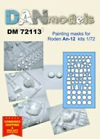 Dan Model 72113 - 1/72 Masc for the Model of the AN-12 (Roden) Scale New in Box