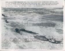 1959 USCG Ice Breaker Appalachee Frees Ships Frozen Chesapeake Bay Press Photo