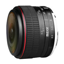 Meike 6.5mm F2.0 Super Fisheye Lens APS-C for Panasonic Olympus Micro 4/3 Camera