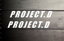 Project.D Initial D decal sticker anime icon logo