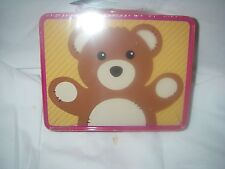 FAO SCHWARZ TIN KEEPSAKE LUNCH BOX SOLDIER AND BEAR NWT