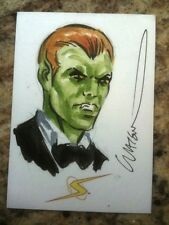 ALEX ROSS PROJECT SUPERPOWERS SKETCH CARD #/160