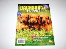 Dachshund Puppies Mega Books Magazine Dog Fancy Popular Pups Series (2008)