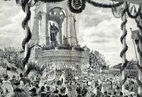 Wittekindsberg 1896 XXL Kunstdruck Einw. Kaiser-Wilhelm-Denkmal Porta Westfalica