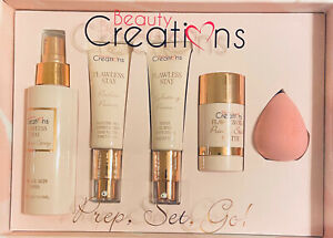 Beauty Creations FLAWLESS STAY PREP & PRIME GIFT SET New In Box