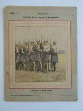 COUVERTURE CAHIER - - EPISODES GUERRE MADAGASCAR = L'Armée MALGACHE