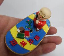 Buddhist Cutie Buddha Skate Board Shape Incense Stick Holder Success