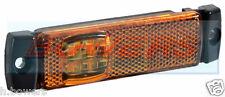 12V/24V DAF 105 XF Ámbar LED Lámpara de posición de lado marcador// Luz Camión Camión Remolque