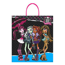 Deluxe Monster High Halloween Party Trick or Treat Plastic Gift Loot Favor Bag