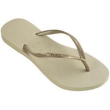 Havaianas Slim Black/Gold/White/Orange/Pink/purple Women's Flip Flops all sizes