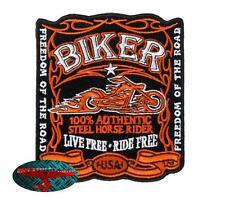 FIREBIKE Patch Aufnäher Aufbügler Biker Motorrad Rocker Harley USA 1% Old School