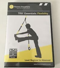 Fitness Anywhere Trx Essentials Flexibility DVD Video And Workout Guide