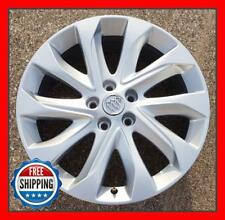 "BUICK ENVISION 2016 2017 2018 Factory OEM Wheel 19"" Rim 4144 Silver w/ Cap #A"