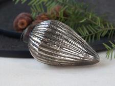 Chic Antique Weihnachtskugel Tropfen Silber Weihnachten Vintage Shabby Chic