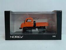 NOREV 1:43 Mercedes Benz UNIMOG U411 MIB OVP Orange & black