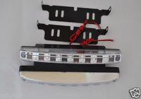 2x 8 LED Car DRL Bright Driving Daytime Running Fog Day Light Head Lamp E-mark