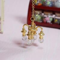 1:12 Puppenhaus Miniatur Lebensszene Modell Puppenhaus Möbel Lampe Zubehör