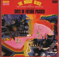 The Moody Blues - Days Of Future Passed DL-114 (1971 Issue) JAPAN LP Red Cover