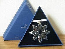 Swarovski Large SNOWFLAKE Christmas Ornament 2013 Crystal #5004489 NEW In BOX