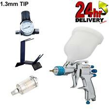 Devilbiss Slg 620 13mm Spray Gun Gravity Feed With Stand Gauge Amp Filter