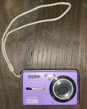 Sanyo VPC E1075 10.0MP Digital Camera - Purple