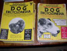 RARE HUTCHINSON'S DOG ENCYCLOPAEDIA BOOK 1ST 1934 COMPLETE SET OF THE 56 PARTS
