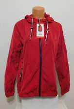 Tommy Hilfiger Womens Windbreaker Jacket Size MEDIUM RED...