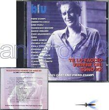 PIERO CIAMPI RARO CD LIVE- RENATO ZERO NADA GINO PAOLI