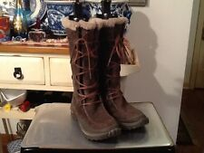 CATERPILLAR Womens Brown Polartec Insulated Lace up Boot Size 7 M