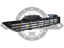 HONDA CRV 2/2007-1/2010 FRONT GRILLE BLACK LOWER