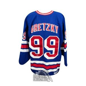 Wayne Gretzky Autographed New York Rangers Hockey Jersey - Upper Deck