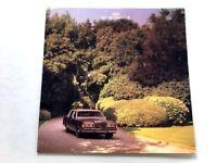 1986 Lincoln Town Car 22-page Original Sales Brochure Catalog - Limousine