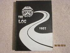 1955 Loras Academy (IA) High School Log Yearbook Annual - Very Nice!!