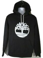 TIMBERLAND A1N5V-001 MEN'S BLACK/WHITE PULLOVER HOODIES