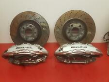 2010 MERCEDES C CLASS 6.2L PETROL C63 AMG BREMBO FRONT BRAKE CALIPER SET + DISCS