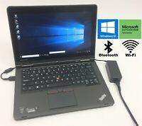 "Lenovo ThinkPad Yoga 12 12.5"" Laptop i5-5300U 128GB SSD 8GB RAM Windows 10 **"