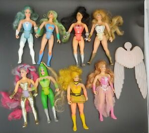Lot of 8 Vintage 1980s She-Ra Princess of Power POP Dolls  MOTU He-Man